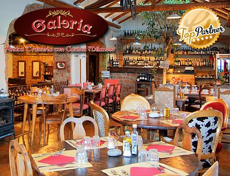 Galeria Antica Trattoria: menu milanese x2