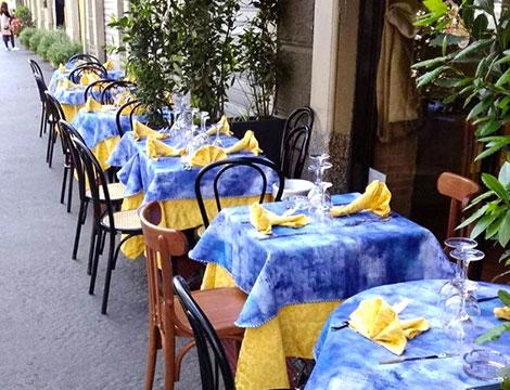 ristorante Gattopardo2 Milano esterno locale