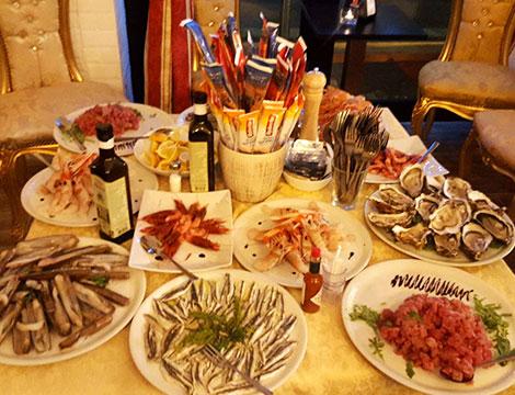 ristorante Gattopardo2 Milano misto di pesce