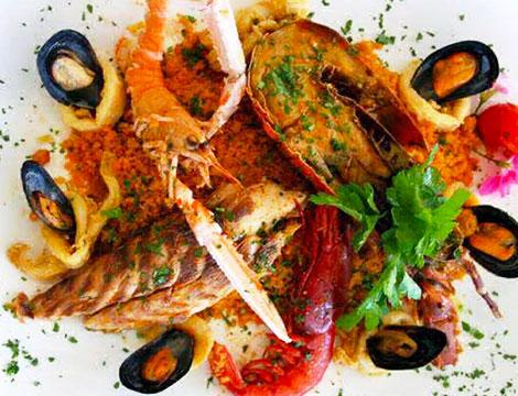ristorante Gattopardo2 Milano secondo di pesce