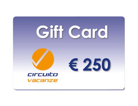 Gift Card Circuito Vacanze scontate