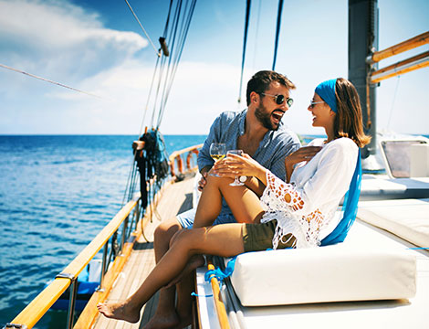 Giornata in barca a vela