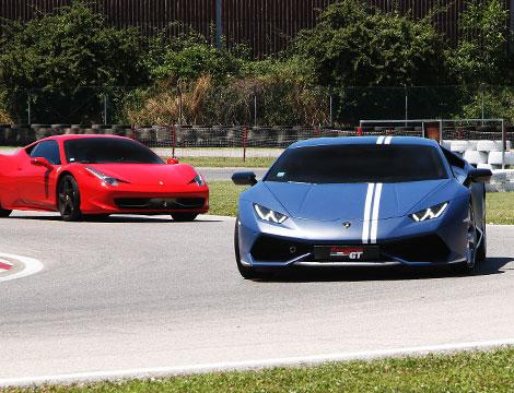 Ferrari F458 Italia , Lamborghini Huracan AVIO , Subaru Impreza STI