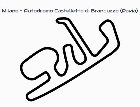 Giri in pista, Arese e Castelletto di Branduzzo