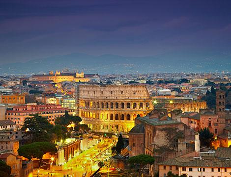 Giro turistico Roma by night fino a 3 passeggeri