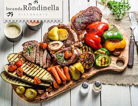 Gran menu di carne con vino_N