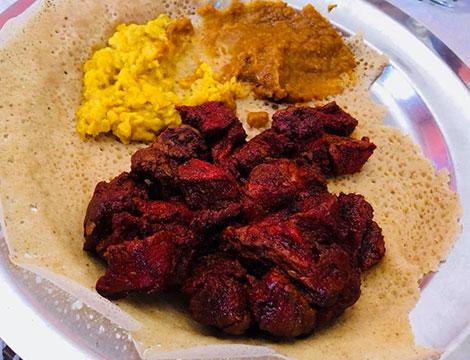 Ha Hu Restaurant Menu etiope ed eritreo