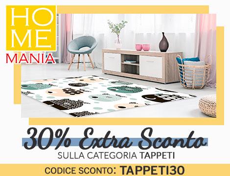Homemania: 30% di sconto sui tappeti