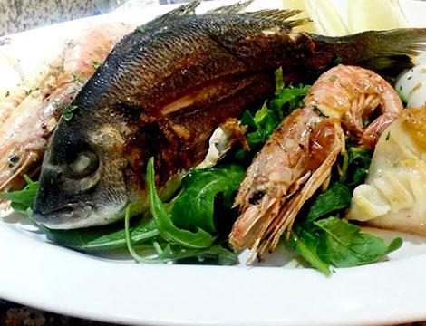 Menù carne o pesce Tuscolana