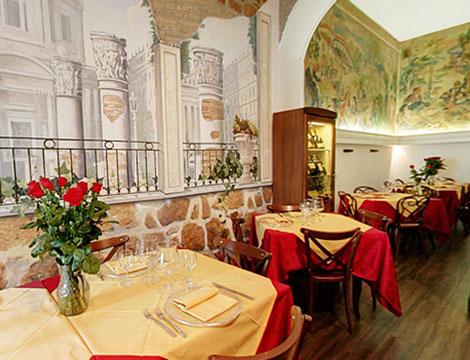 Il Tempio di Bacco menu pesce in zona Via Veneto