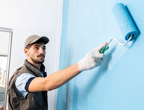 Imbiancatura fino a 150 m² e una, 2 o 3 pareti colorate