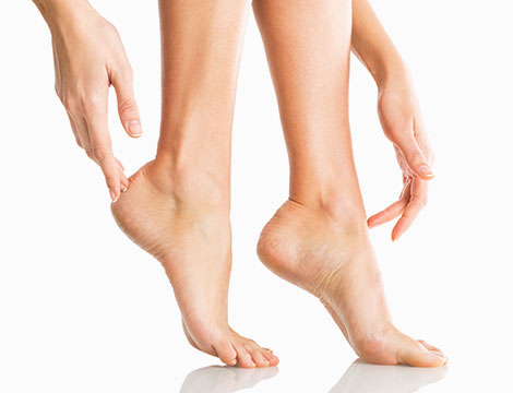 Indagine con fisiognomica del piede