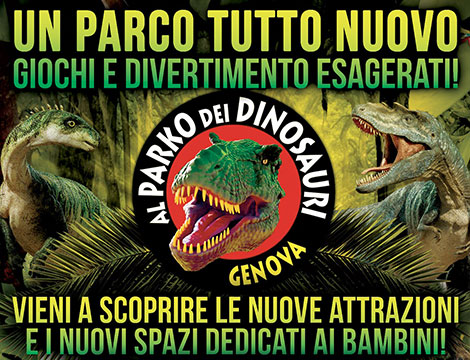 Ingresso Al Parko dei Dinosauri