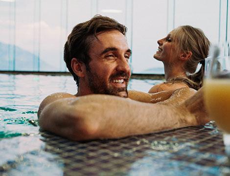 spa di coppia in centro con massaggio