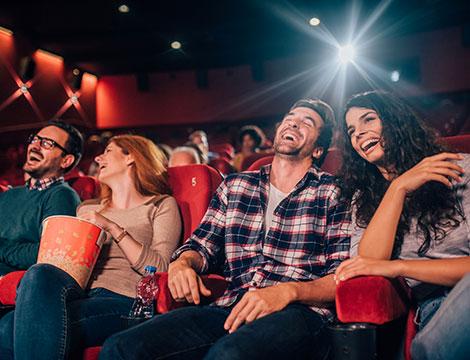 Ingresso al cinema per una o 2 persone
