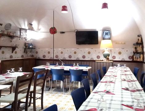 La Cantina del Borgo Napoli sala interna