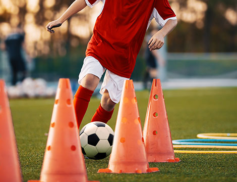 10 o 20 lezioni di calcio a 5 per un bambino
