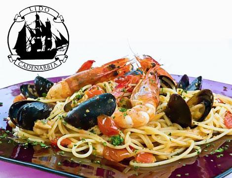Lido di Cadenabbia menu pesce gourmet