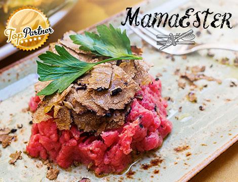 MamaEster: menu tartufo gourmet x2