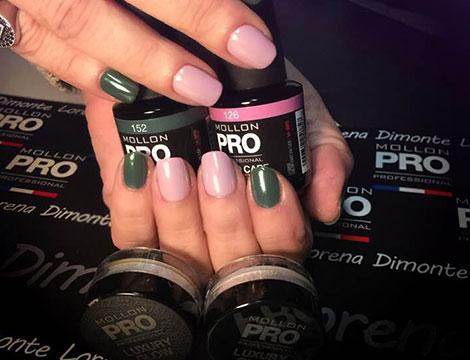 Manicure con Mollon Pro