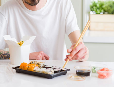 Sushi box Marube da asporto 30 o 60 pezzi