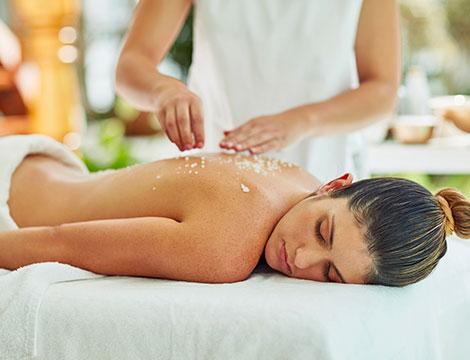 Un massaggio a scelta