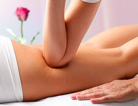 Un massaggio anticellulite o relax