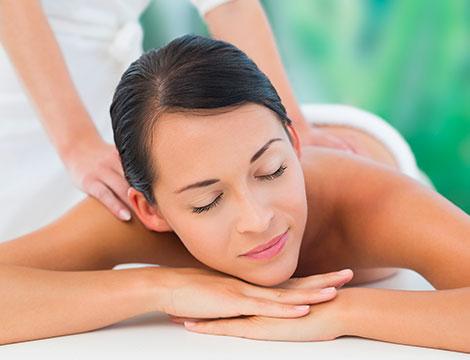 Un massaggio ayurvedico