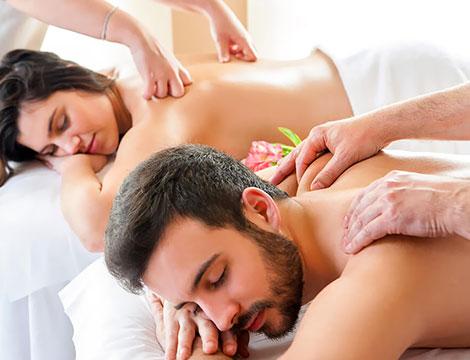 Massaggio californiano di coppia
