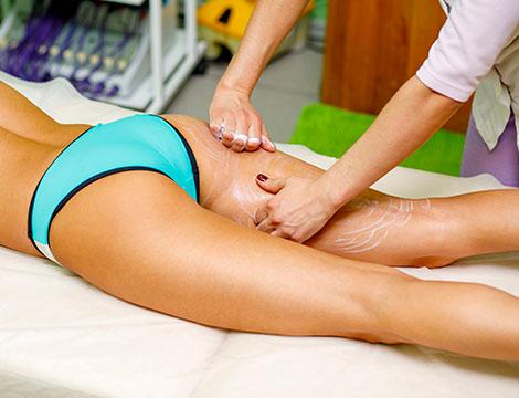 Massaggio circolatorio o drenante