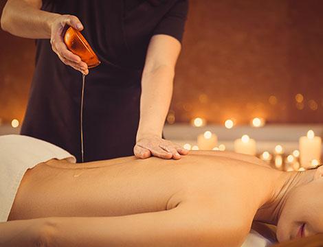 Massaggio corpo all'Argan