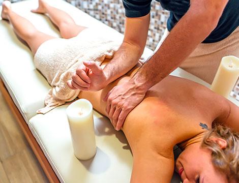 Un massaggio decontratturante