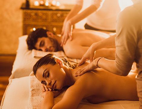 massaggio di coppia fino a 50 minuti da Alhambra spa