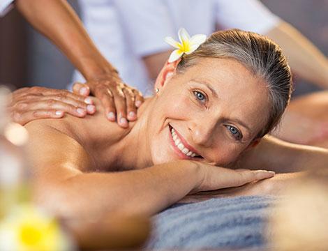 Massaggio relax e percorso benessere