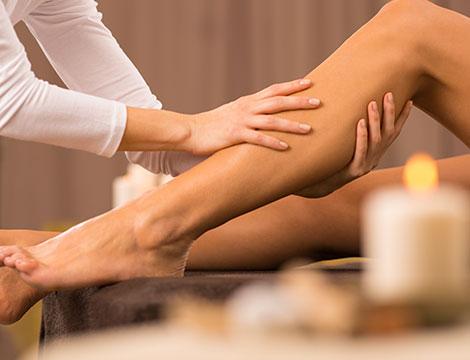 Massaggio defatcante alle gambe al Centro Olistico Contatto
