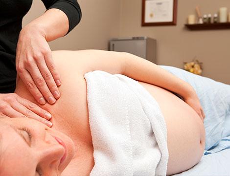 Massaggio per donne in gravidanza