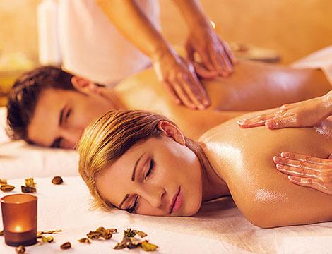 Massaggio relax romantico x2
