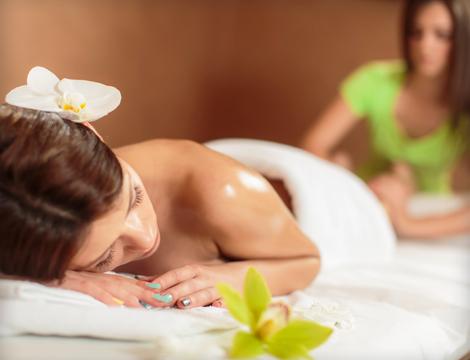 Massaggio relax sale himalayano