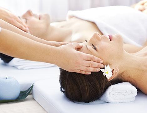 Massaggio romantico e spumante