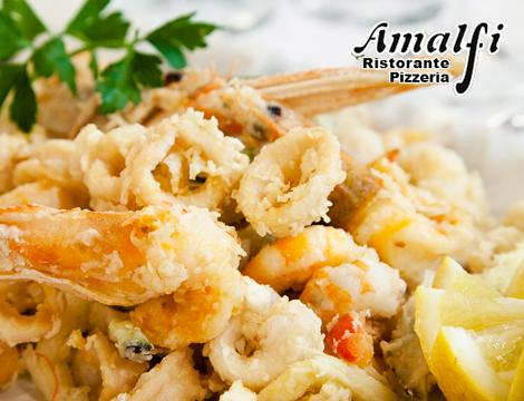 menu frittura di pesce per due