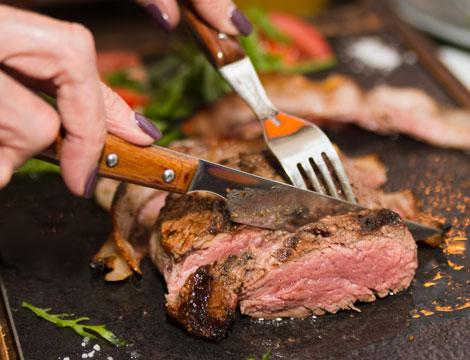 Menu Steak House x2