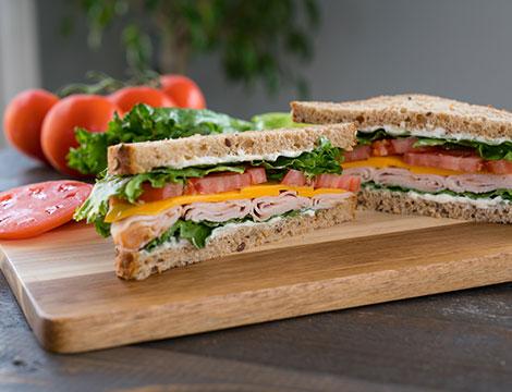 Menu american sandwich x2