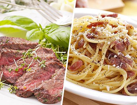 Menu carne La Nuova Alba _N