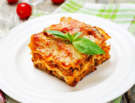 Menu Completo da pizzaecooking lasagna