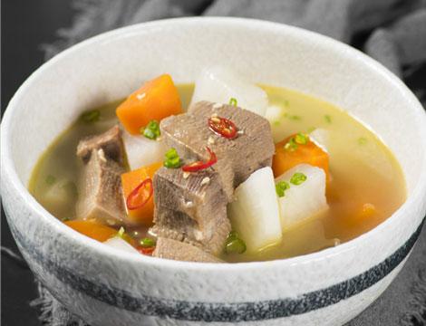 Menu Coreano con Ramen