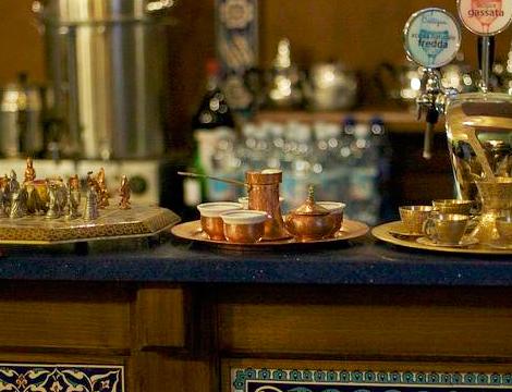 Menù Curdo Mediorientale da Kirkuk Torino cerimonia del caffe