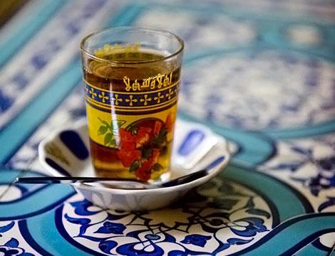 Menù Curdo Mediorientale da Kirkuk Torino il te