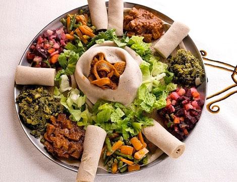 Menù eritreo a scelta - Prenestina_N