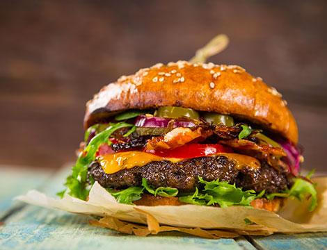 Menu hamburger NiceGrill Eur