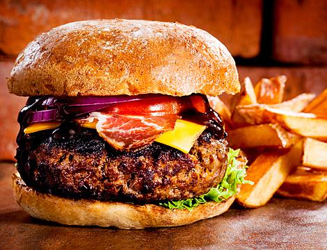 Menu hamburger x2 Aviazione